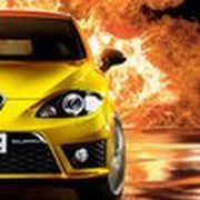 Play Car on Fire Game