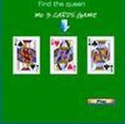 Play card (find the queen) Game