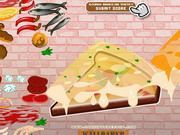 Play Cheesy Pizza Dressup Game
