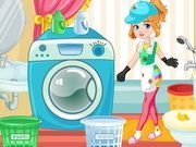 Play Clumsy Mechanic Laundry Game