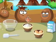 Play Cook Cake With Nuts Game