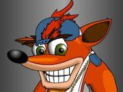 Play Crash Bandicoot Dress Up Game