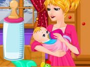 Play Cute Baby Feeding Game