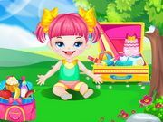 Play Cute Baby Picnic Game