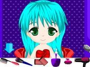 Play Cute Chibi Anime Hair Salon Game