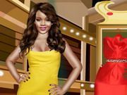 Play Cute Rihanna Dressup Game