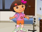 Play Dora At The Doctor Game