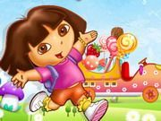 Play Dora Candy Transport Game
