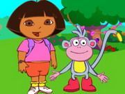 Play Dora Find Boots Game