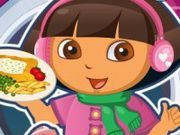 Play Dora Fish And Chips Game