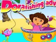Play Dora Fishing Adventure Games Game