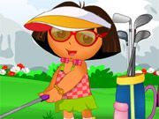 Play Dora Golf Dress Up Game