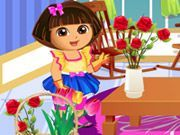 Play Dora Loves Flowers Game