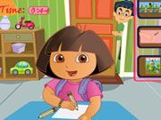 Play Dora Room Slacking Game