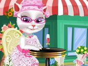Play Dress Up Talking Angela Game
