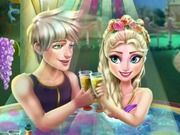 Play Elsa Jacuzzi Celebration Game