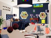 Play Escape Modern Family Room Game