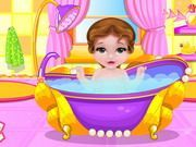 Play Fairytale Baby Belle Caring Game