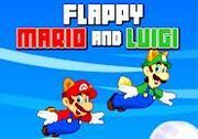 Play Flappy Mario and Luigi Game