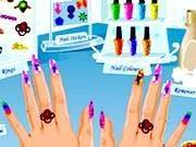 Play Funky Nail Art Game