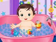 Play Funny Baby Bath Game