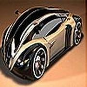 Play Gold car puzzle Game