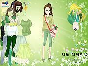 Play Green Life Dressup Game