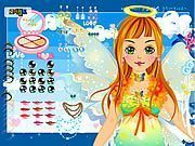 Play Holiday Fairy Dress up Game