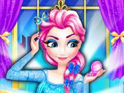 Play Ice Queen Make Up Salon Game