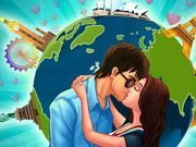 Play Kiss Around The World Game