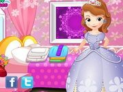 Play Little Princess Sofia Washing Clothes Game
