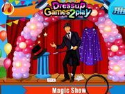 Play Magic Show Cleaning Game