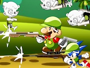 Play Mario And Sonic Zombie Killer Game