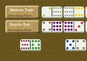Play Mexican Train Dominoes Game