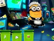 Play Minion Laboratory Cleaning Game
