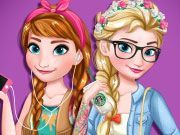 Play Modern Frozen Sisters Game