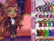 Play Monster High Chibi Clawdeen Wolf Dress Up Game