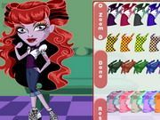 Play Monster High Chibi Operetta Dress Up Game