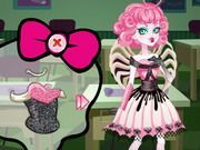Play Monster High Series C a Cupid Dress Up Game