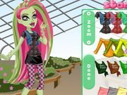 Play Monster High Venus Mcflytrap Dress Up Game