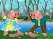 Play Mr and Mrs Hippo Dress Up Game