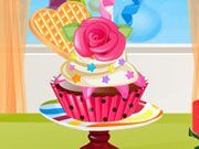 Play Newyear Cupcake Decoration Game