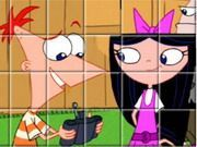 Play Phineas And Ferb Spin Puzzle Game