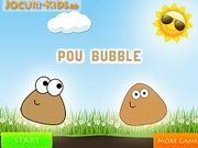 Play Pou Bubble Game