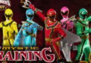 Play Power Rangers Training Game