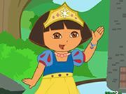 Play Princess Dora Dress Up Game