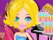 Play Prom Party Haircuts Game