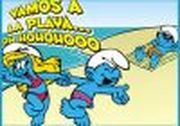 Play Puzzle Pitufos in the Beach Game