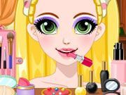 Play Rapunzel Glittery Makeup Game