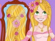Play Rapunzel Wedding Braids Game